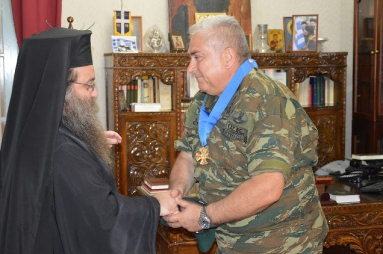Στο Μητροπολίτη Χίου ο Διοικητής της ΑΣΔΕΝ (ΦΩΤΟ)