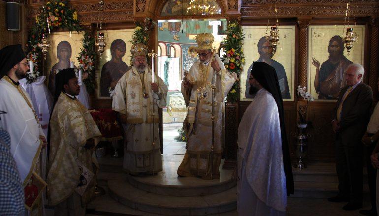 Η μνήμη της παιδομάρτυρος Αγίας Μαρίνης στην Ηλιούπολη (ΦΩΤΟ)
