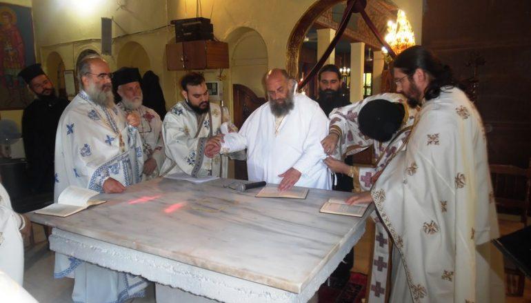 Εγκαίνια Ιερού Ναού Γενεσίου της Θεοτόκου Ανωχωρίου Φαρσάλων (ΦΩΤΟ)