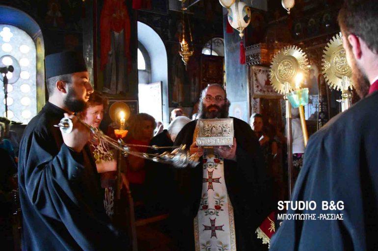 Αγρυπνία προς τιμήν των Αγίων Παρθενίου και Ευμενίου στις Μυκήνες (ΦΩΤΟ)