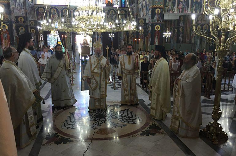Η εορτή της Αγίας Μαρίνης στη Χαλκίδα (ΦΩΤΟ)