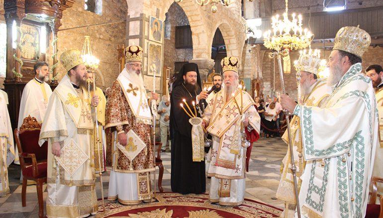 Η Χαλκίδα τίμησε την Πολιούχο της Αγία Παρασκευή (ΦΩΤΟ)