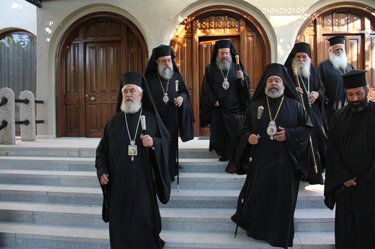 Πολυαρχιερατικό Συλλείτουργο για τον Άγιο Σεραφείμ στην ομώνυμη Μονή του Τρικόρφου (ΦΩΤΟ)