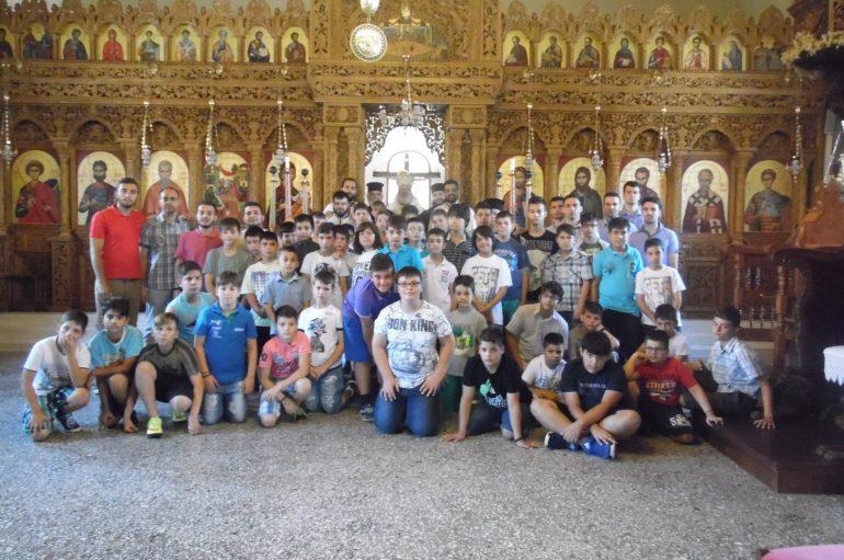 Φιλοξενία μαθητών στην Ιερά Μονή Δαδιάς (ΦΩΤΟ)