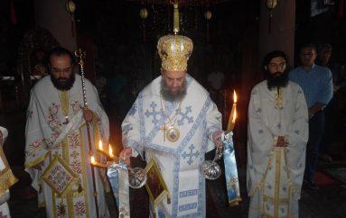 Αρχιερατική Θ. Λειτουργία στην Ιερά Μονή Σπηλιάς (ΦΩΤΟ)