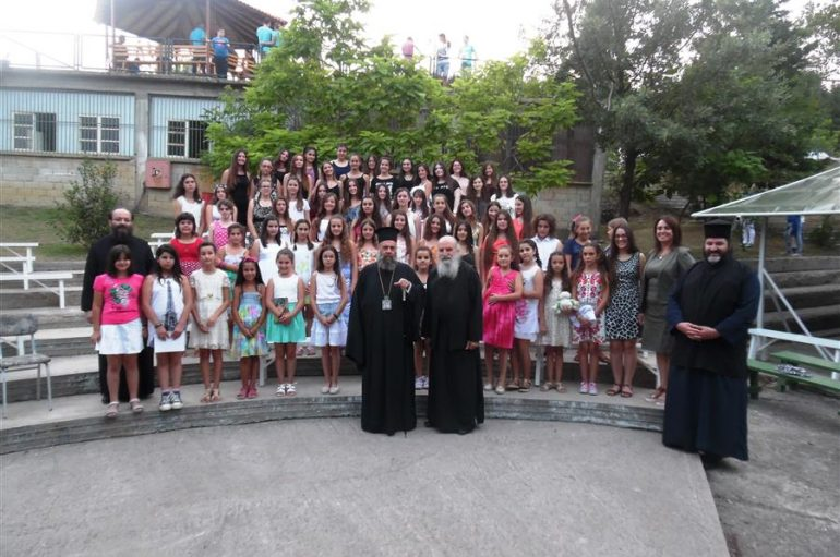 """Γιορτή λήξης πρώτης κατασκηνωτικής περιόδου των κοριτσιών στη """"Χριστιανική Αγωγή"""" Καρδίτσας (ΦΩΤΟ)"""