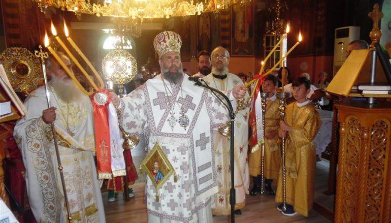 Η εορτή της Οσιομάρτυρος Παρασκευής στην Ι. Μ. Θεσσαλιώτιδος (ΦΩΤΟ)