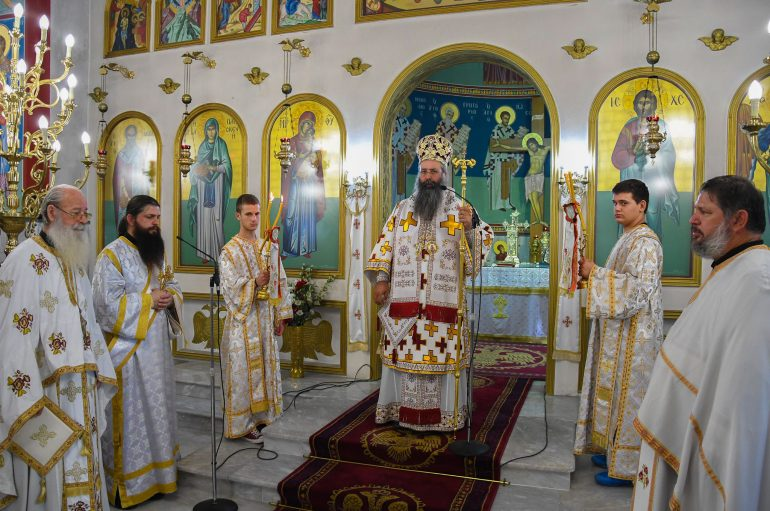 Η εορτή της Αγίας Παρασκευής στην Ι.Μ. Κίτρους (ΦΩΤΟ)