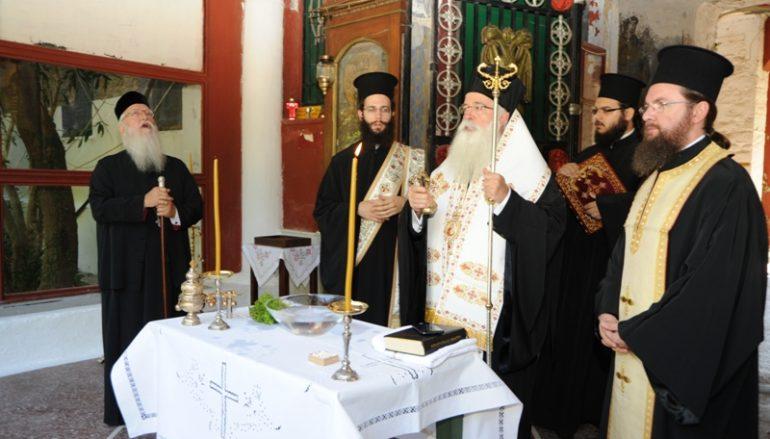 Ξεκινά η αναστήλωση της ιστορικής Μονής Παναγίας κάτω Ξενιάς (ΦΩΤΟ)