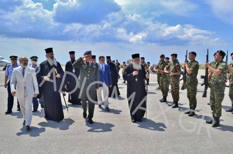 Ο Αρχιεπίσκοπος Ιερώνυμος κατέφθασε στην Αλεξανδρούπολη (ΦΩΤΟ)