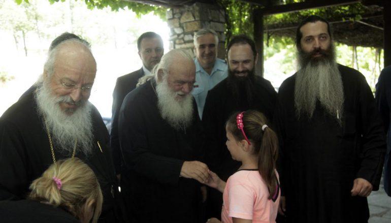 Συνάντηση του Αρχιεπισκόπου με φοιτητές δασολογίας (ΦΩΤΟ)