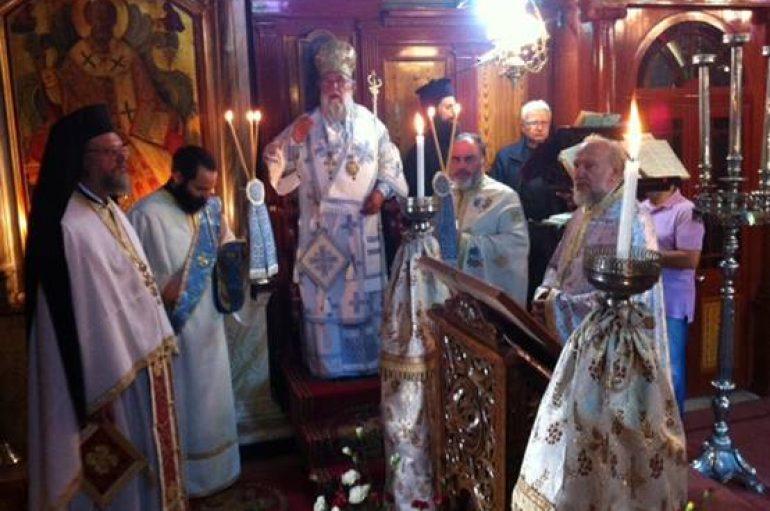 Ο Μητροπολίτης Κερκύρας στον Άγιο Νικόλαο Κάτω Κορακιάνας (ΦΩΤΟ)