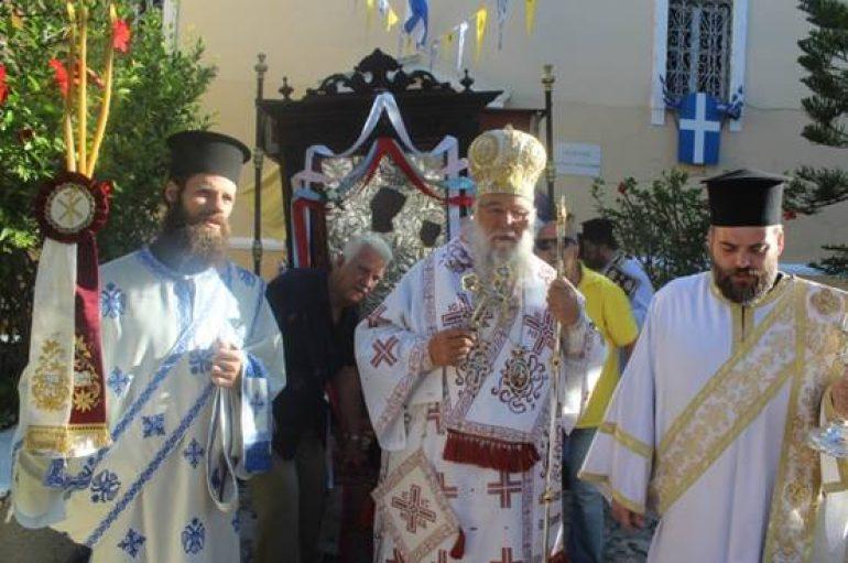 """Κερκύρας Νεκτάριος: """"Η Παναγία είναι η τροφός της ζωής μας"""" (ΦΩΤΟ)"""
