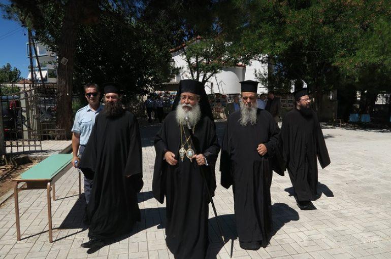 Η εορτή της Αγίας Μεγαλομάρτυρος Μαρίνης στην Ι. Μητρόπολη Φθιώτιδος (ΦΩΤΟ)