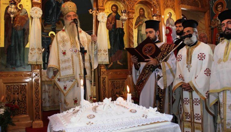 Η εορτή του Αγίου Παντελεήμονος στο Άσυλο Ανιάτων Σπάρτης (ΦΩΤΟ)