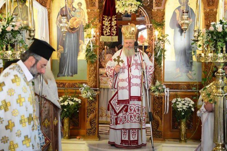 Λαμπρός εορτασμός της Αγίας Παρασκευής στις Καλύβες Χανίων (ΦΩΤΟ)