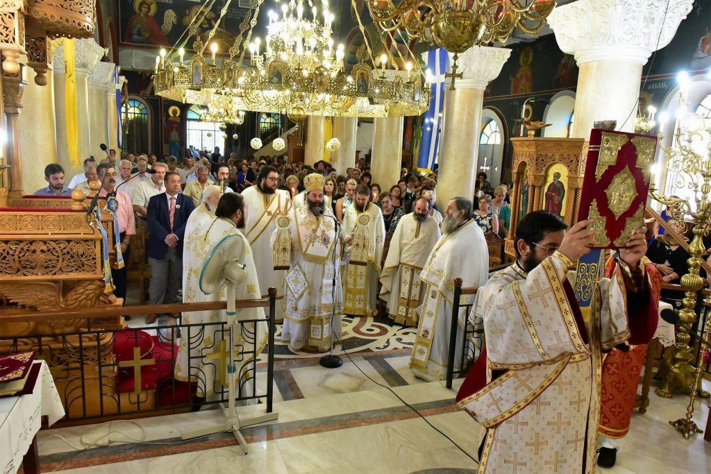 Αρχιερατική Θεία Λειτουργία Δρυμος (33)