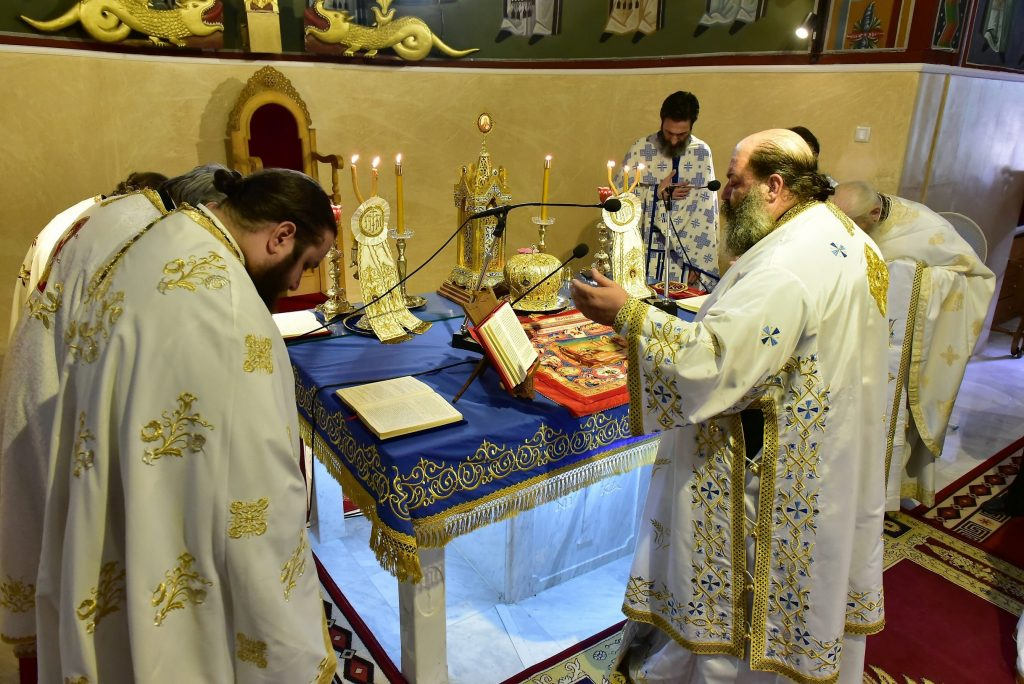 Αρχιερατική Θεία Λειτουργία Δρυμος (64)
