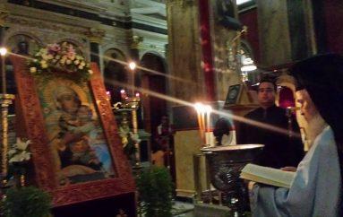 """Αγρυπνία προς τιμήν της Παναγίας της """"Τριπολιτσάς"""" στην Ι. Μ. Μαντινείας (ΦΩΤΟ)"""