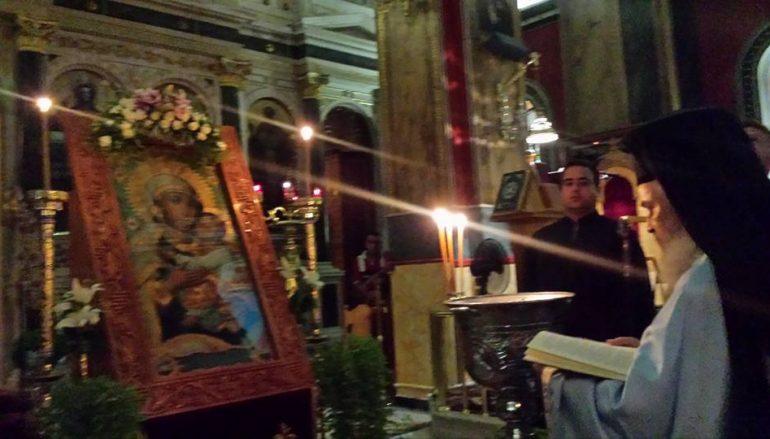 Αγρυπνία προς τιμήν της Παναγίας της «Τριπολιτσάς» στην Ι. Μ. Μαντινείας (ΦΩΤΟ)