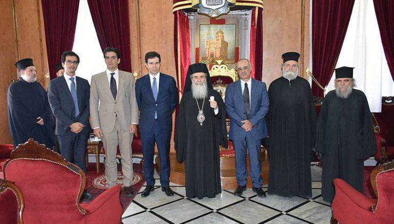 Ο Υφυπουργός Εξωτερικών στο Πατριαρχείο Ιεροσολύμων (ΦΩΤΟ – ΒΙΝΤΕΟ)