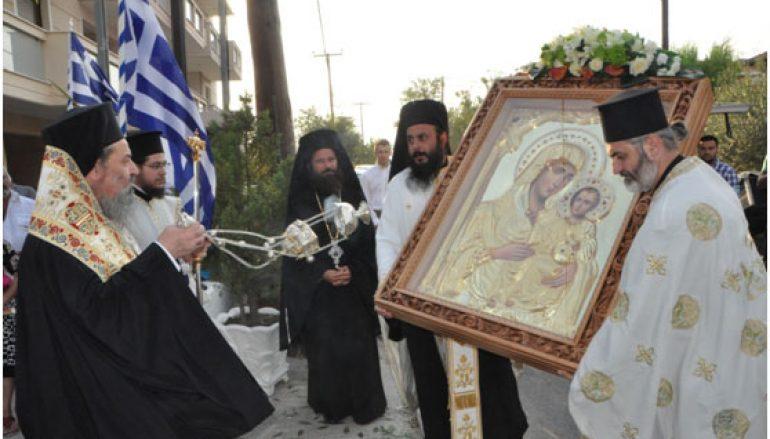 Η Παναγία Ιεροσολυμίτισσα στον Άγιο Χρυσόστομο Δράμας (ΦΩΤΟ)