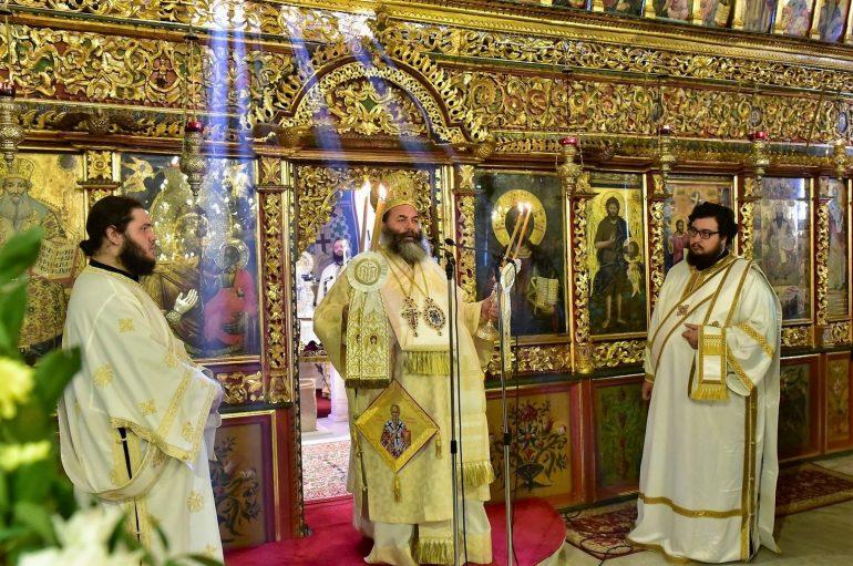 Η Ι. Μητρόπολη Λαγκαδά εόρτασε τον Επίσκοπό της Άγιο Ακάκιο (ΦΩΤΟ)