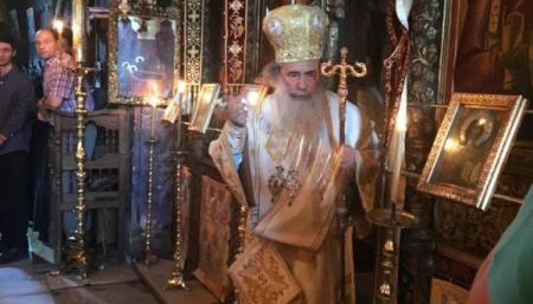 Η επίσκεψη του Πατριάρχη Ιεροσολύμων στο Άγιον Όρος (ΦΩΤΟ)