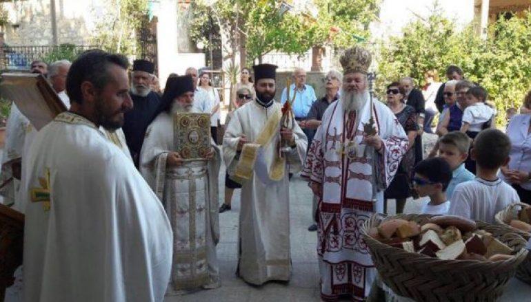 Η εορτή του Αγίου Τίτου στον Εμπρόσνερο Αποκορώνου (ΦΩΤΟ)
