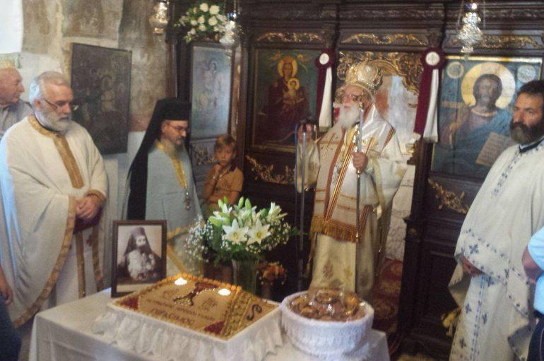 Ο Μητροπολίτης Μαντινείας τέλεσε Μνημόσυνο στον Πατριάρχη Ιεροσολύμων Γεράσιμο