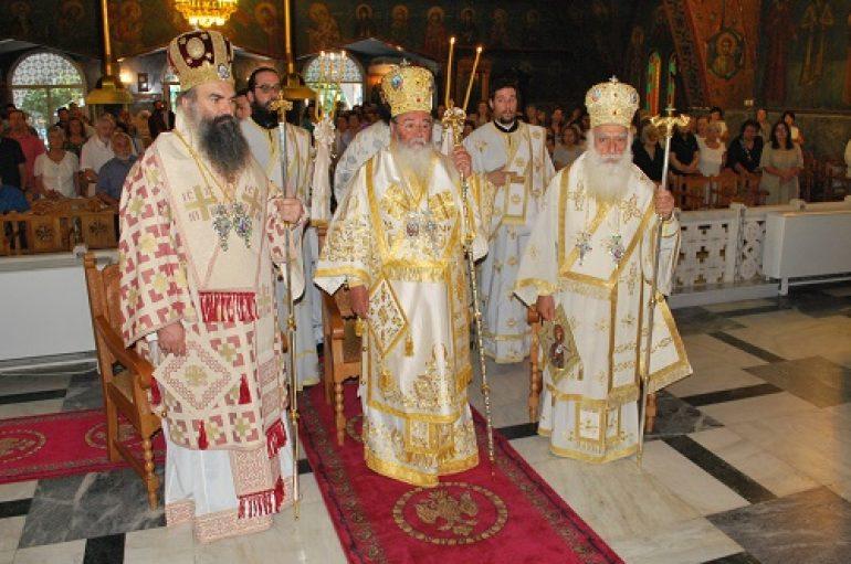 Η εορτή του Αγίου Αλεξάνδρου στην Ι. Μ. Νέας Σμύρνης (ΦΩΤΟ)