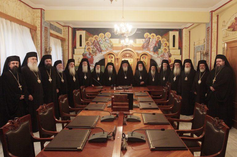 Η Ιερά Σύνοδος για την επίθεση με μολότοφ στο Συνοδικό Μέγαρο
