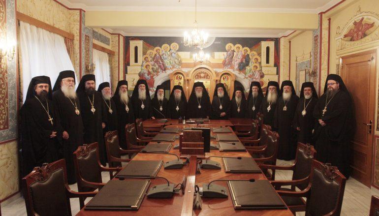 Η Ιερά Σύνοδος για την εισβολή των αντεξουσιαστών στη Μητρόπολη Θεσσαλονίκης