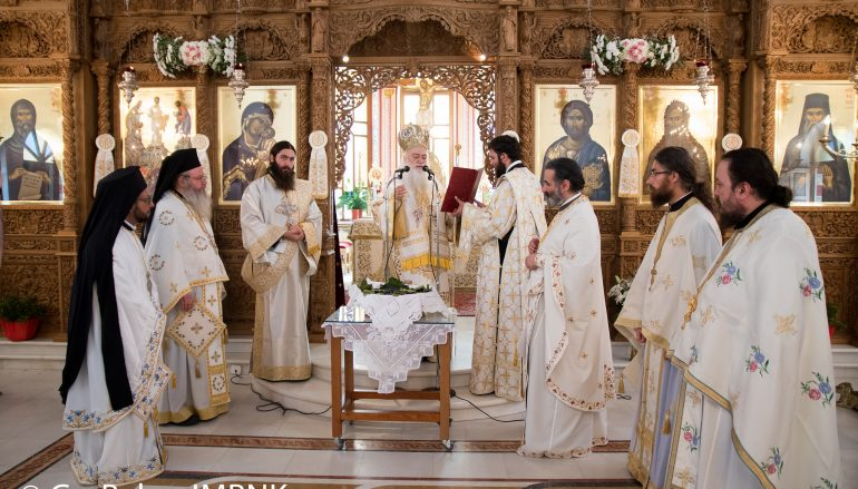 Ο εορτασμός της Μεταμορφώσεως του Σωτήρος στην Ι. Μ. Βεροίας (ΦΩΤΟ)