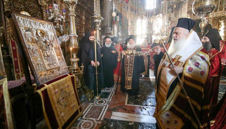 Η εορτή του Αγίου Παντελεήμονος στην Ι. Μ. Μονή Βατοπαιδίου (ΦΩΤΟ)