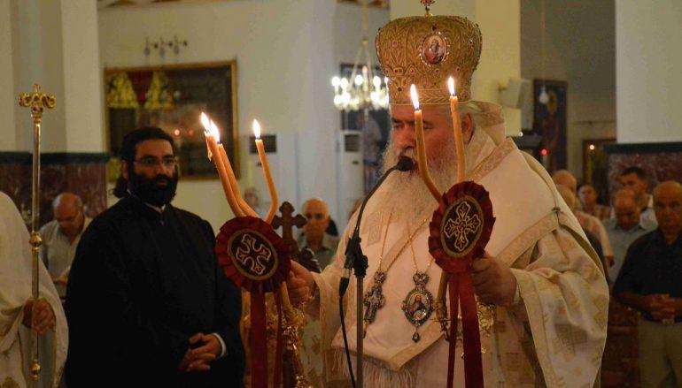 Ο Μητροπολίτης Νεαπόλεως στο Τεσσαρακονθήμερο Μνημόσυνο του π. Βικεντίου Κουρελάρου (ΦΩΤΟ)