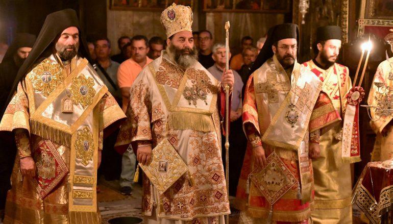 Η εορτή της Κοιμήσεως της Θεοτόκου στην Ι. Μονή Ιβήρων του Αγίου Όρους (ΦΩΤΟ)