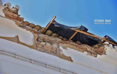 """Ανδριανός: """"Να ξεκινήσει η αποκατάστασης των ζημιών στον Ι. Ναό Αγίου Νικολάου Ναυπλίου"""""""