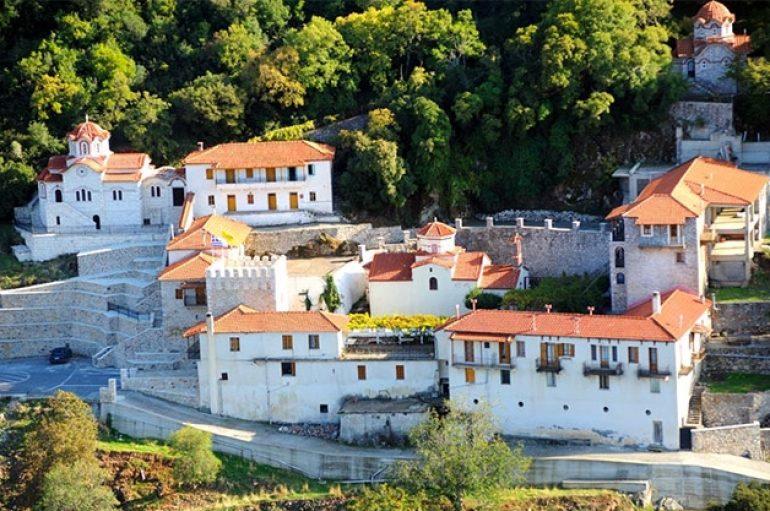 Ιερά Μονή Αγίου Νικολάου Βαρσών. Ένα απο τα παλαιότερα μοναστήρια του Μοριά