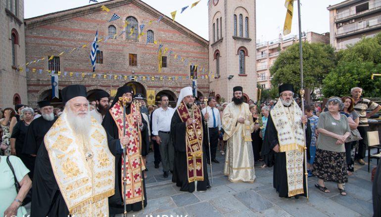 Η θερινή πανήγυρις του Ιερού Ναού Αγ. Αντωνίου Πολιούχου Βεροίας (ΦΩΤΟ)