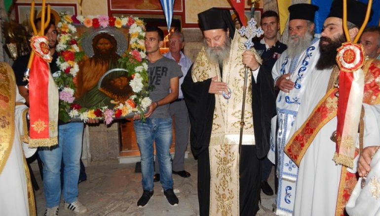 Ο Επίσκοπος Κερνίτσης στο Μπούμπουκα Καλαβρύτων (ΦΩΤΟ)