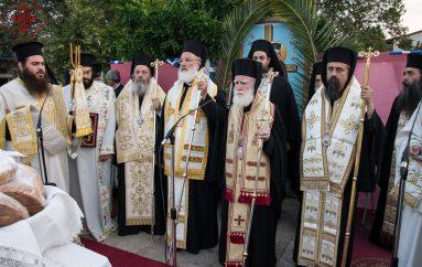 Ιερά Λιτανεία για τον Άγιο Κοσμά στο Θέρμο της Αιτωλίας (ΦΩΤΟ)