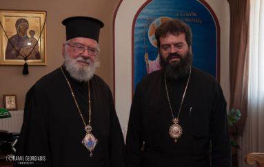 Ο Επίσκοπος Ανδίδων στον Μητροπολίτη Μαρωνείας
