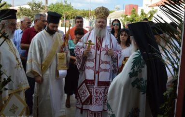 Πανηγυρικός εορτασμός της Παναγίας στα Χωραφάκια Χανίων (ΦΩΤΟ)
