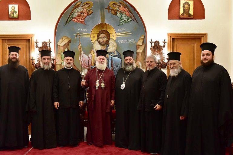 Άφιξη του Πατριάρχη Αλεξανδρείας και πάσης Αφρικής στην Ι. Μ. Λαγκαδά (ΦΩΤΟ)