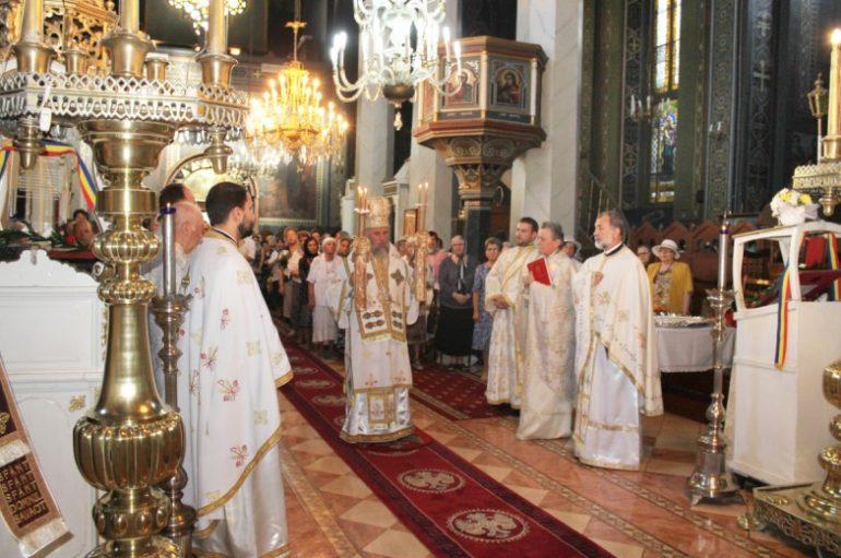 Η εορτή της Μεταμορφώσεως στο Γκαλάτσι Ρουμανίας (ΦΩΤΟ)