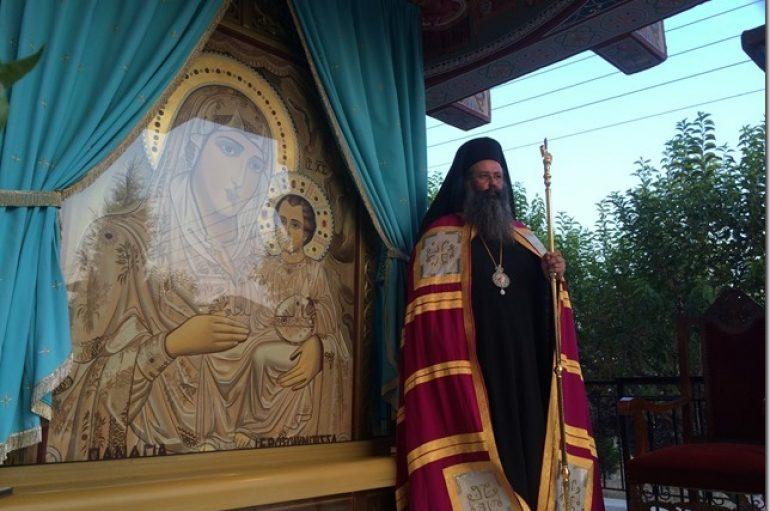 Παρακλητικός Κανών εις την Υπεραγία Θεοτόκο στην Ι. Μ. Κίτρους (ΦΩΤΟ)