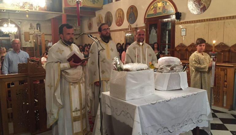 Ιερά Αγρυπνία για το υπερφυές θαύμα του Αγίου Σπυρίδωνος στον Πύργο (ΦΩΤΟ)