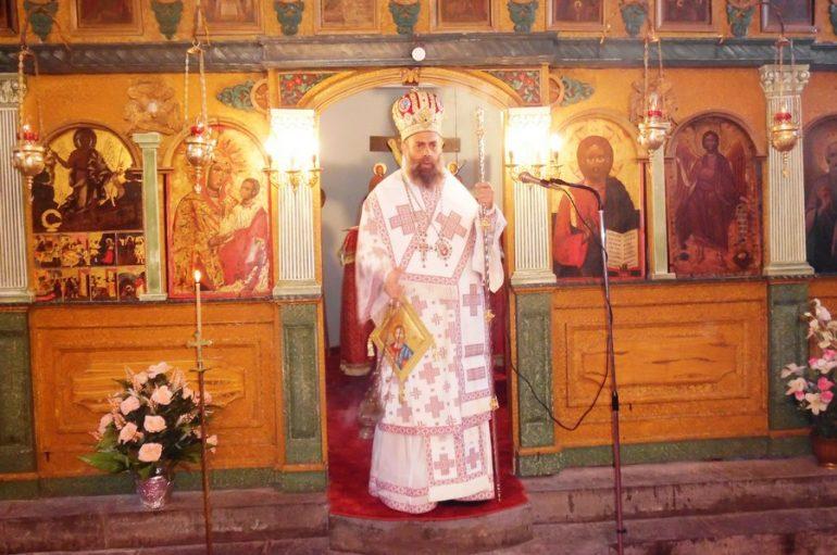 Αρχιερατική Θεία Λειτουργία στον Ι. Ν. Τιμίου Προδρόμου Καρύτσης (ΦΩΤΟ)