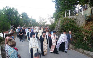 Υποδοχή της Παναγίας Κορώνης σε χωριά της Καρδίτσας (ΦΩΤΟ)